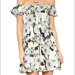 J.O.A. Los Angeles Off Shoulder Floral Dress